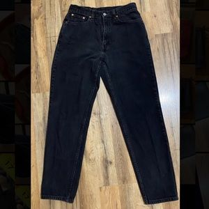 VINTAGE LEVI'S ** High Waisted Slim Fit Jeans